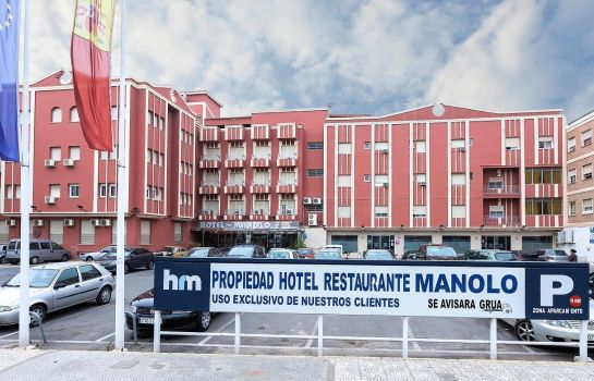 Exterior view Hotel Manolo