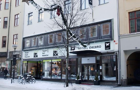 Exterior view First Hotel Orebro