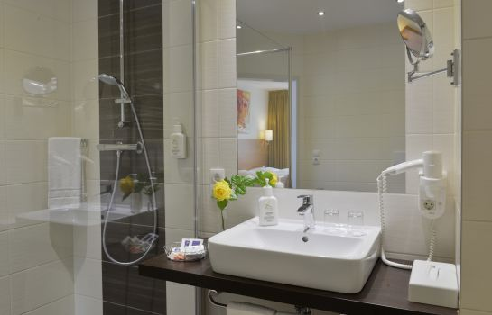 Bagno in camera Ringhotel Haus Oberwinter