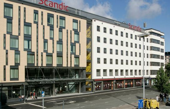 Exterior view Scandic Tampere City
