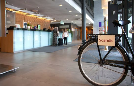 Hotelhalle Scandic Tampere City