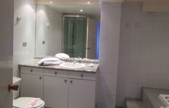 Bagno in camera Apart Hotel Colon
