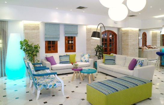 Lobby Smartline Kyknos Beach Hotel & Bungalows - All Inclusive