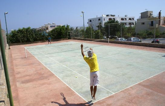 Tennis court Smartline Kyknos Beach Hotel & Bungalows - All Inclusive
