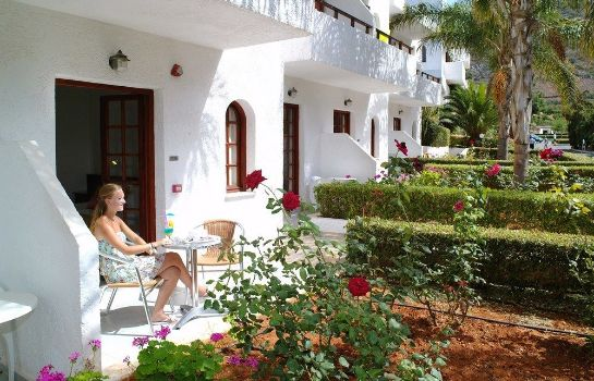 Terrace Smartline Kyknos Beach Hotel & Bungalows - All Inclusive