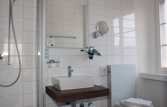 Schön Hotel Jakob In Rapperswil   Rapperswil Jona Rapperswil Günstig Bei,  Badezimmer