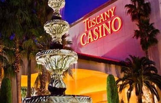 Buitenaanzicht TUSCANY SUITES AND CASINO