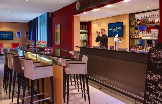 Bar del hotel Welcome Hotel Essen