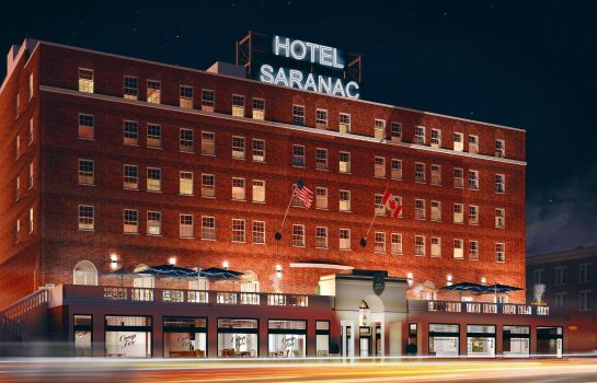 Vista exterior Hotel Saranac Curio Collection by Hilton