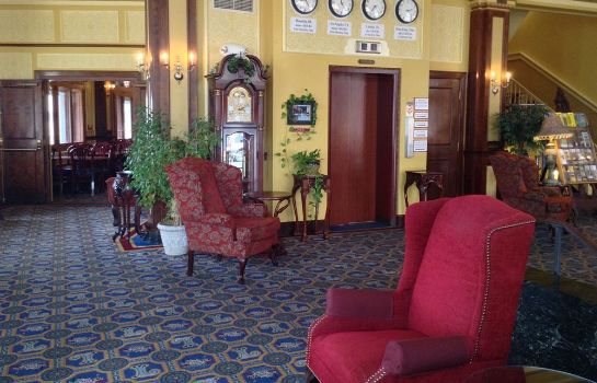 Hall The Lafayette A grand Riverboat Era Hotel