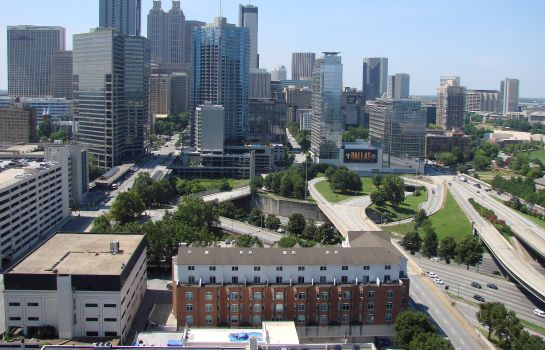 Vista esterna Crowne Plaza ATLANTA - MIDTOWN