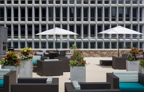 Terraza Crowne Plaza ATLANTA - MIDTOWN