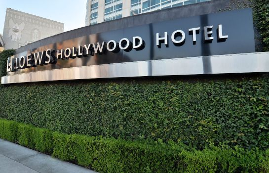 Vista exterior Loews Hollywood Hotel
