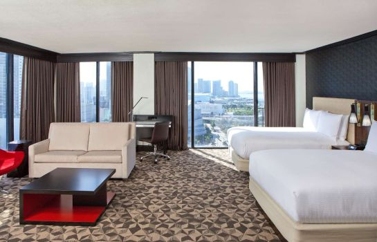 Chambre Hilton Miami Downtown
