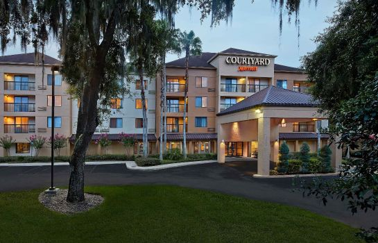 Exterior view Courtyard Orlando East/UCF Area