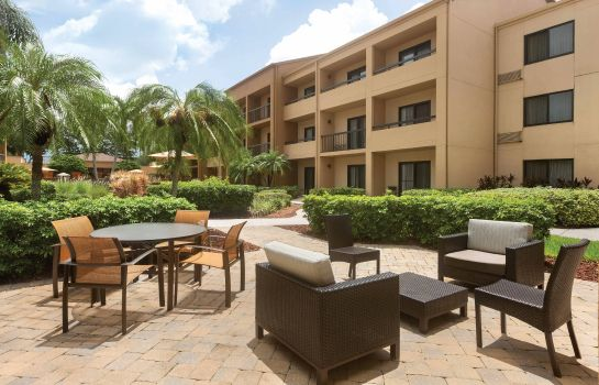 Vista esterna Courtyard Fort Myers Cape Coral