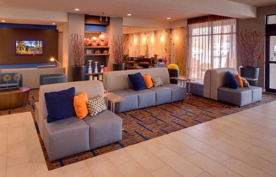 Hotelhalle Fairfield Inn & Suites Salt Lake City Downtown