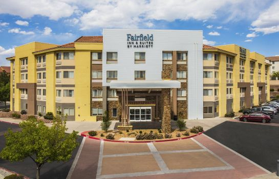 Außenansicht Fairfield Inn & Suites Albuquerque Airport