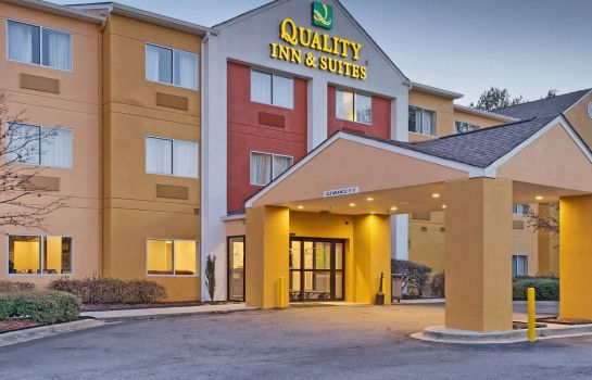 Außenansicht Quality Inn and Suites Birmingham - High
