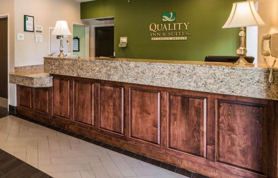Hotelhalle Quality Inn and Suites Birmingham - High