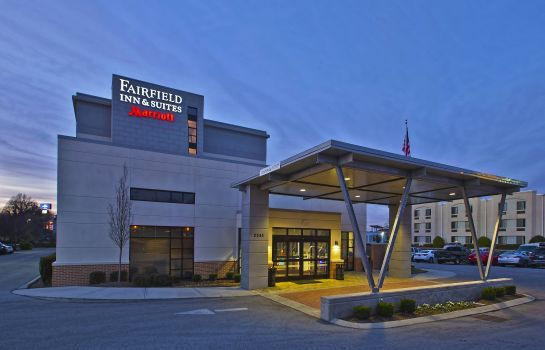 Außenansicht Fairfield Inn & Suites Chattanooga Fairfield Inn & Suites Chattanooga