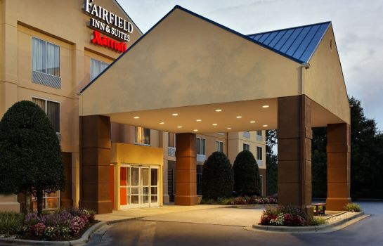 Außenansicht Fairfield Inn & Suites Charlotte Arrowood