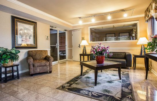 Recepcja Quality Inn Fort Jackson