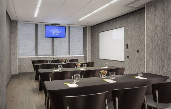 Sala congressi Fairfield Inn & Suites Chicago Downtown/Magnificent Mile