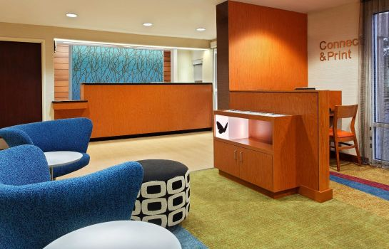 Hotelhalle Fairfield Inn & Suites Charlotte Arrowood