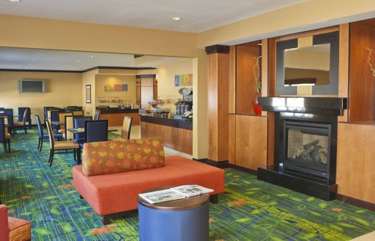 Lobby Fairfield Inn & Suites Champaign