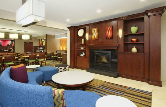 Vestíbulo del hotel Fairfield Inn & Suites Colorado Springs South