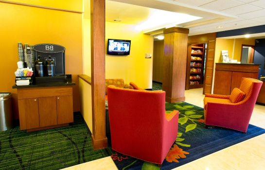 Hotelhalle Fairfield Inn & Suites Dallas DFW Airport North/Irving