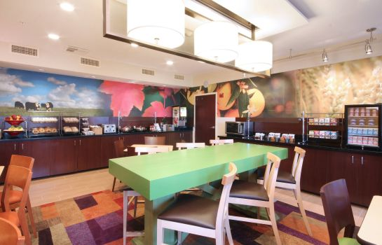 Restaurant Fairfield Inn & Suites Dallas Las Colinas