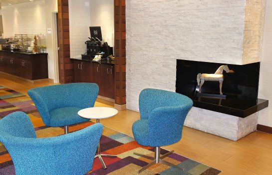 Hotelhalle Fairfield Inn & Suites Dallas Park Central