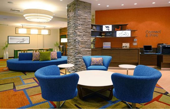 Hotelhalle Fairfield Inn & Suites Denver Cherry Creek