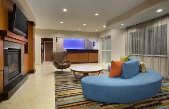 Hotelhalle Fairfield Inn & Suites Fort Worth University Drive