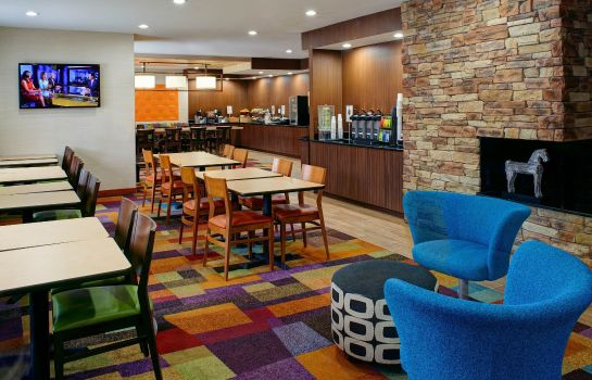 Hotelhalle Fairfield Inn & Suites Detroit Farmington Hills