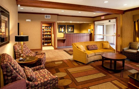 Hotelhalle Fairfield Inn & Suites Detroit Livonia