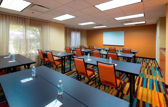 Sala de reuniones Fairfield Inn & Suites Newark Liberty International Airport