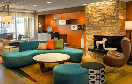 Lobby Fairfield Inn & Suites at Dulles Airport