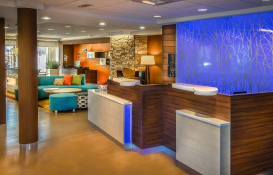 Hotelhalle Fairfield Inn & Suites at Dulles Airport