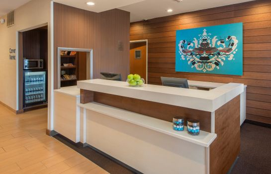 Lobby Fairfield Inn & Suites Indianapolis Airport
