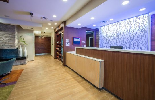 Hotelhalle Fairfield Inn & Suites Indianapolis Northwest