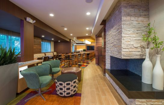 Lobby Fairfield Inn & Suites Indianapolis Northwest