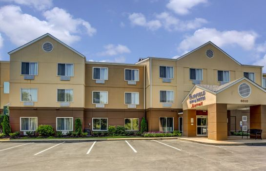 Vista esterna Fairfield Inn & Suites Memphis