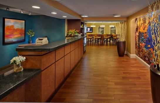 Hotelhalle Fairfield Inn & Suites Palm Beach