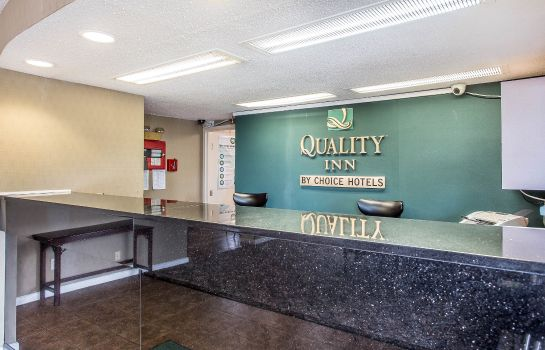 Hotelhalle Quality Inn Greenville