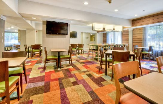 Restauracja Fairfield Inn & Suites Raleigh Crabtree Valley