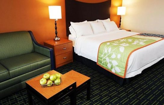 Zimmer Fairfield Inn Rochester Airport