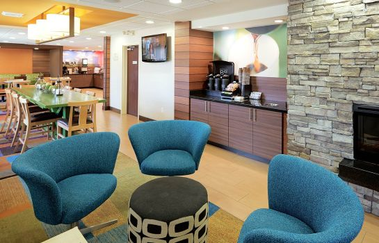 Hotelhalle Fairfield Inn & Suites Salt Lake City South